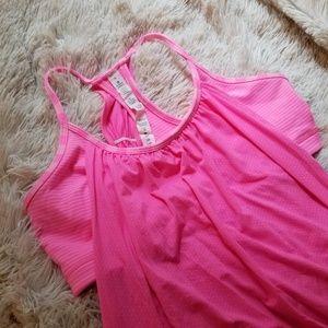 Lululemon No Limits tank pink